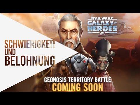 Schwierigkeitsgrad und Belohnung von Geonosis ▶ Updates ▷ Star Wars: Galaxy of Heroes