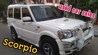 Scorpio used car sales in Tamilnadu