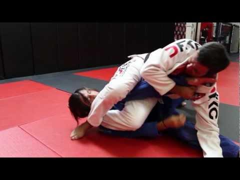 Jiu Jitsu Techniques - Omoplata from all four + Transition to Armbar/Triangle Image 1
