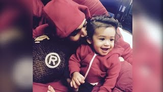 Chris Brown Shares Adorable Videos of Daughter Royalty