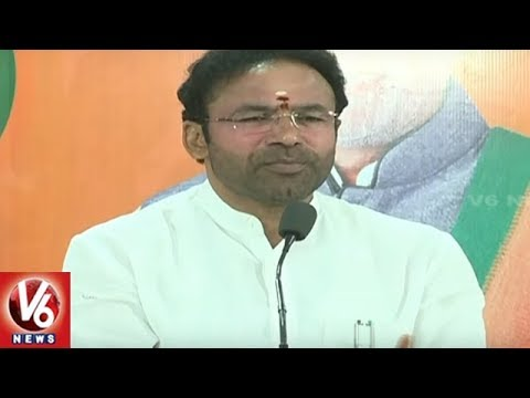BJP MLA Kishan Reddy Criticize IT Minister KTR Over Hyderabad City Roads | V6 News