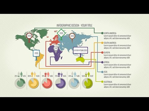 Infographics 3 0 after effects template free