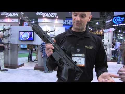 SHOT Show 2013 Sig MPX Intro #SHOTShow FateofDestinee & Funker Tactical