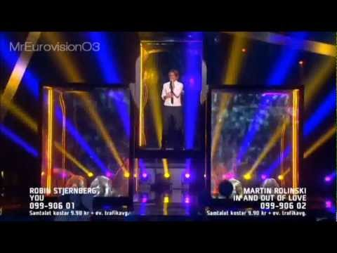 Martin Rolinski - In And Out Of Love (Melodifestivalen 2013 Andra Chansen)