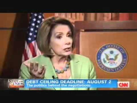 Nancy Pelosi Blames Tax Cuts (Not Out of Control Spending) for Soaring Deficits