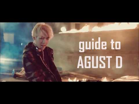 """BTS Rap Mixtapes #2: """"AGUST D"""" By SUGA (Lyrics Guide For English Speakers)"""