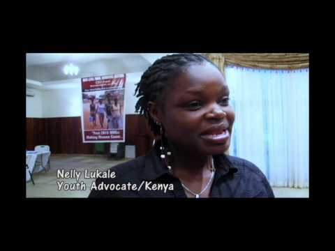 Youth Advocate Nelly On Access To Quality, Youth Friendly Sexual Health Services video