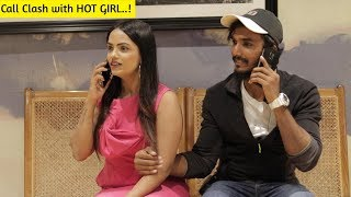 Call Clash With Hot Girl | Latest Prank | Bantai It's Prank