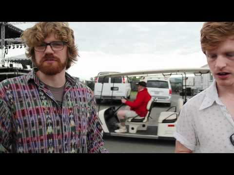 Reptar Interview @ Sasquatch 2012 the Register Guard & Telos Studios dale earnhardt jr jr