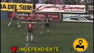 Blas Giunta vs Independiente 1990