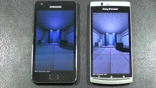 Samsung Galaxy S II vs Sony Ericsson Xperia Arc Face Off