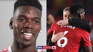 When Im happy, I play better! | Paul Pogba on Man Utd dressing room Ole Gunnar Solskjr