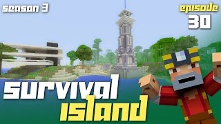 Minecraft Xbox One: Survival Island - Season 3! (Ep.30 - Beacon Lighthouse!)