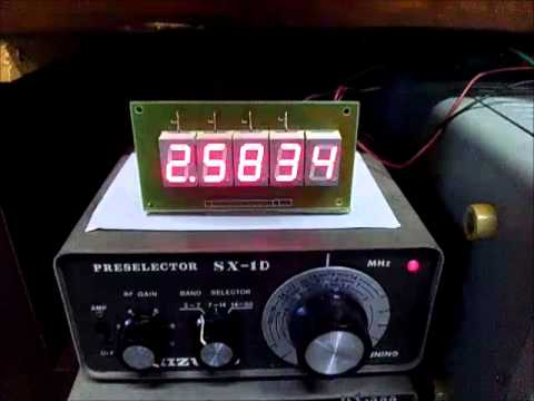 Frequency Counter RED FND KIT NEW MODEL