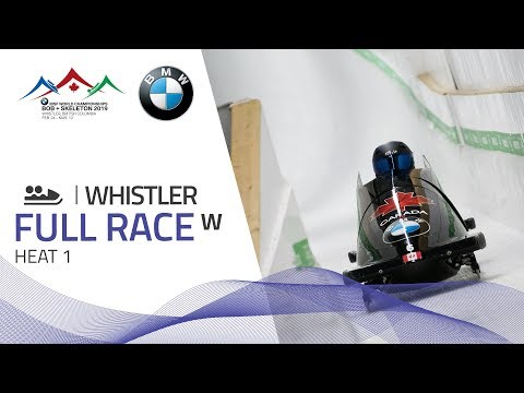 Whistler   BMW IBSF World Championships 2019 - Women's Bobsleigh Heat 1   IBSF Official