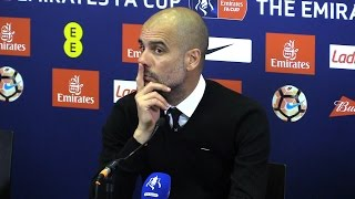 Arsenal 2-1 Manchester City - Pep Guardiola Full Post Match Press Conference