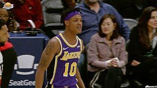 Jemerrio Jones scores first career NBA bucket | Los Angeles Lakers