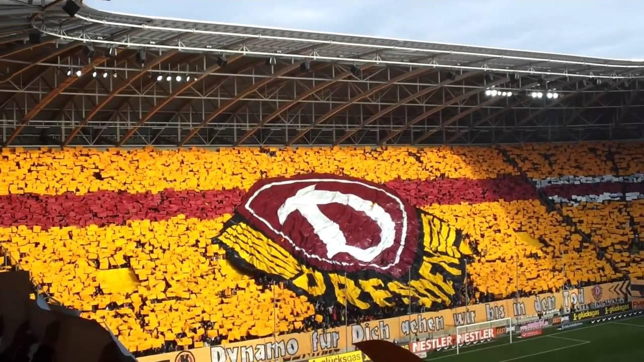 Dynamo Dresden-Erzgebirge Aue 20.11.11 Choreo - YouTube