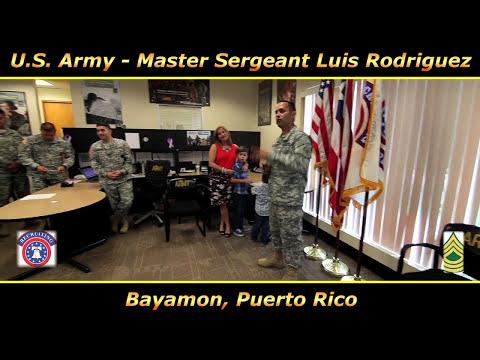 Master Sergeant Rodriguez Promotion Ceremony - Bayamon, PR