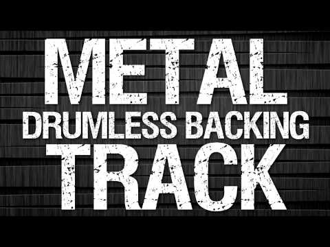 Metal Drumless Backing Track 95 BPM Without Drums