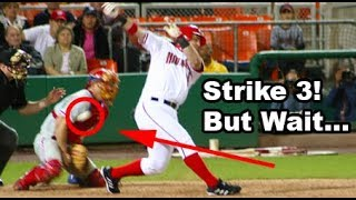 MLB Dropped 3rd Strikes ᴴᴰ