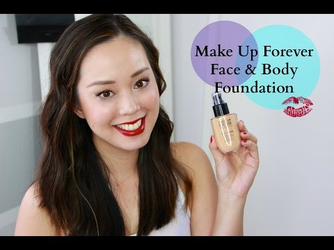 Make Up For Ever Face & Body Foundation Review