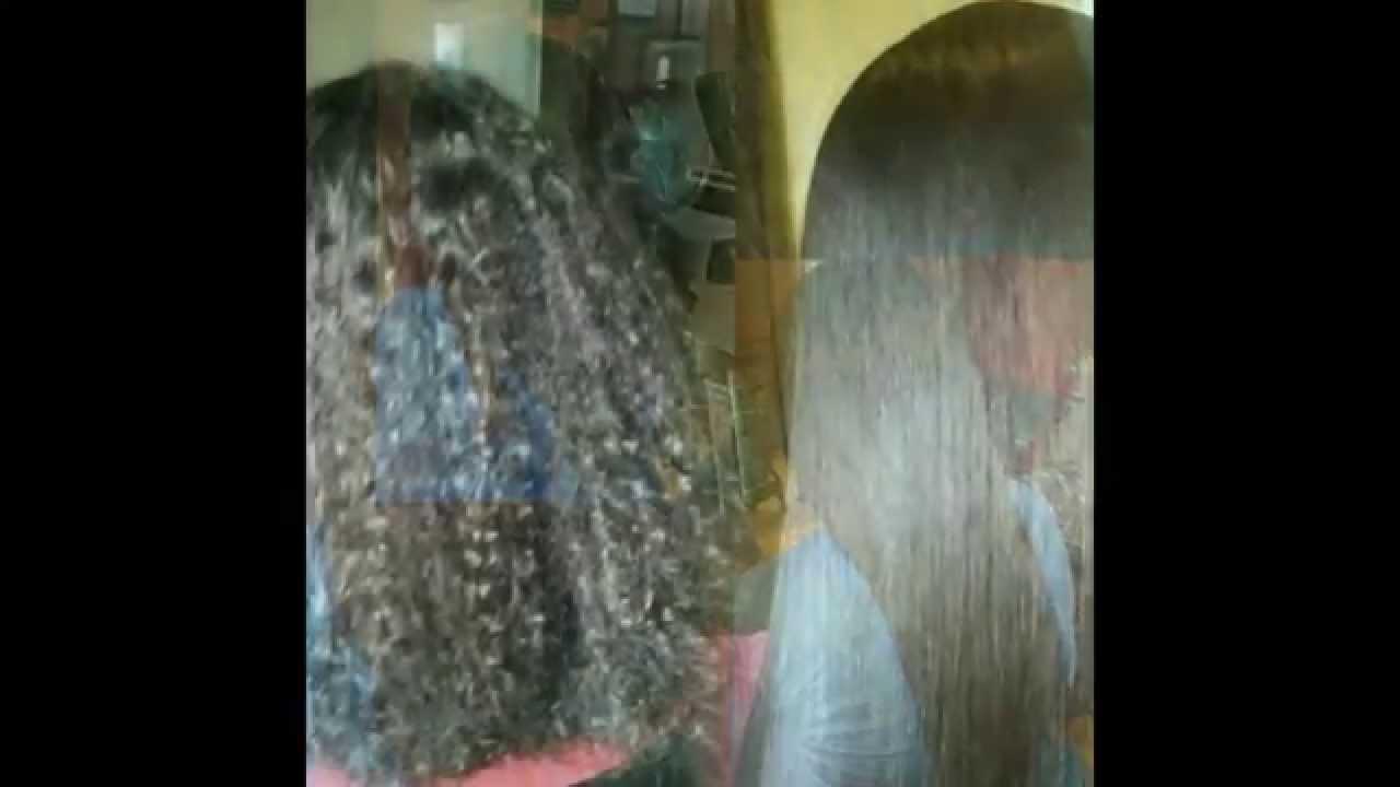 Keratin Straightening Before And After Keratin Hair Straightening