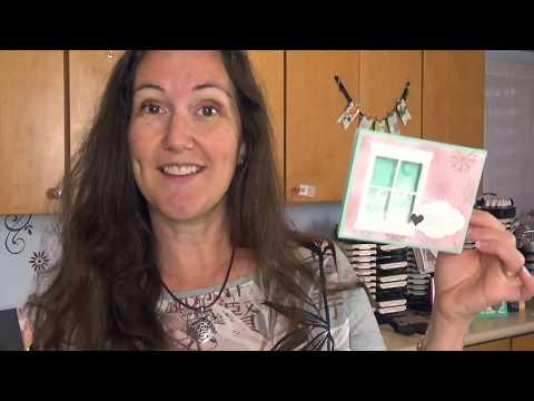 NEW Shadowbox Card Tutorial with Meg: Hometown Greetings Christmas Card