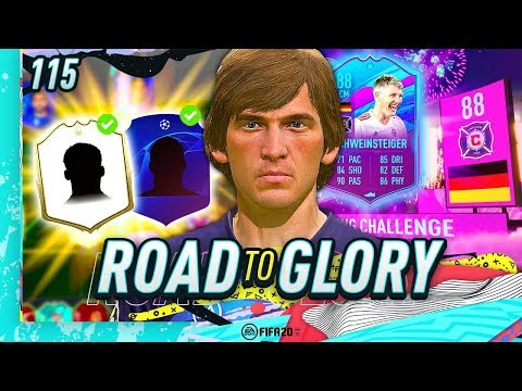 FIFA 20 ROAD TO GLORY #115 - NEW ICON & STRIKER!