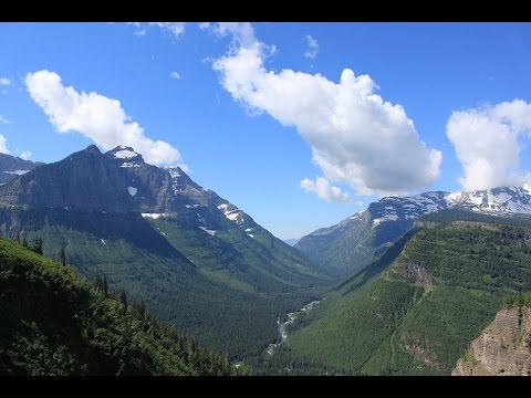 Glacier National Park: Going to the Sun Road (GoPro HD) - 2