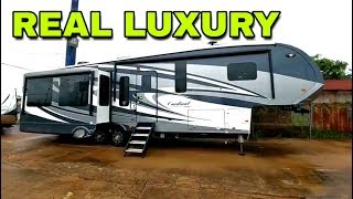 Super Luxurious Cardinal Fifth Wheel! Look inside this beauty!