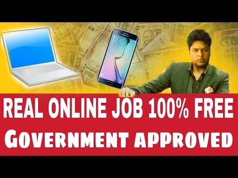 real online job without investment  india