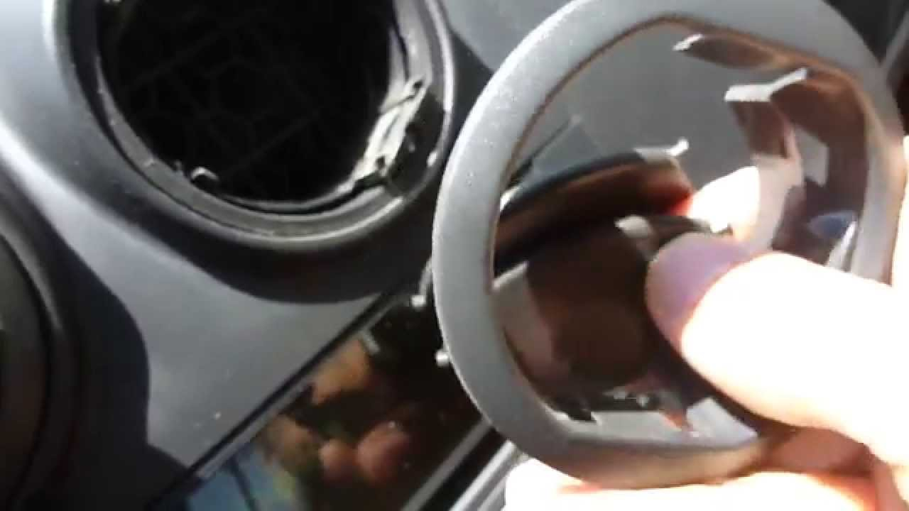 Chevrolet Aveo Dash Vent Air Replacement Youtube