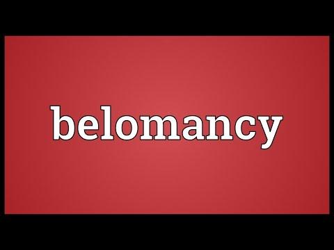 Header of belomancy