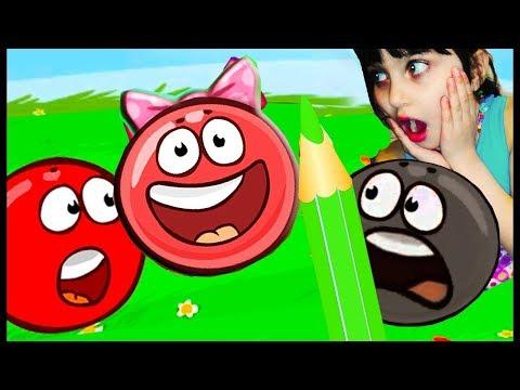 Новый красный шарик РЕЖЕМ ПРИНЦЕССУ ?  ФИНАЛ👹 Red Ball 4   ЗЛЫЕ КВАДРАТЫ видео для детей Валеришка
