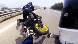 Hectic Road Bike Crashes & Motorcycle Mishaps 2017 [Ep.#17]