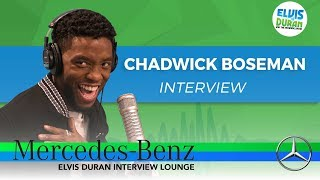 Download Lagu How Chadwick Boseman Got His Role in 'Black Panther' | Elvis Duran Show Gratis STAFABAND