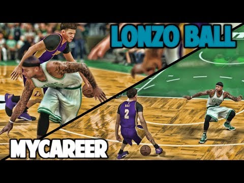 LONZO BREAKS ISAIAH THOMAS TWICE - NBA 2K17 LONZO BALL MyCareer