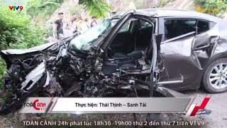 Tai nạn kinh hoàng xảy ra khi 2 xe tông trực diện khiến 2 tài xế tử vong tại chỗ | Toàn Cảnh 24h