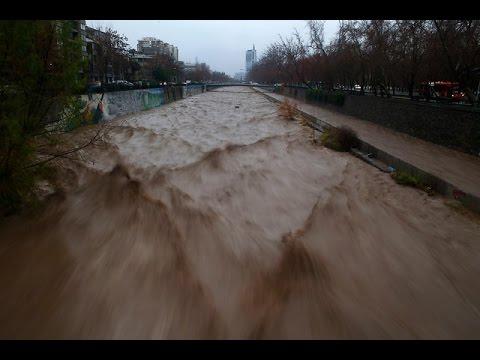 Río Mapocho y Quebrada de Macul resistieron de buena forma el temporal - CHV Noticias