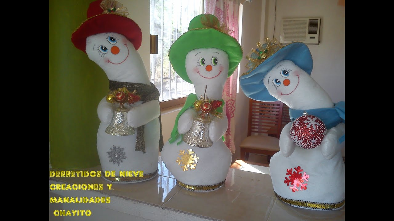 Adornos navide os 2013 2 youtube - Hacer decoraciones navidenas ...