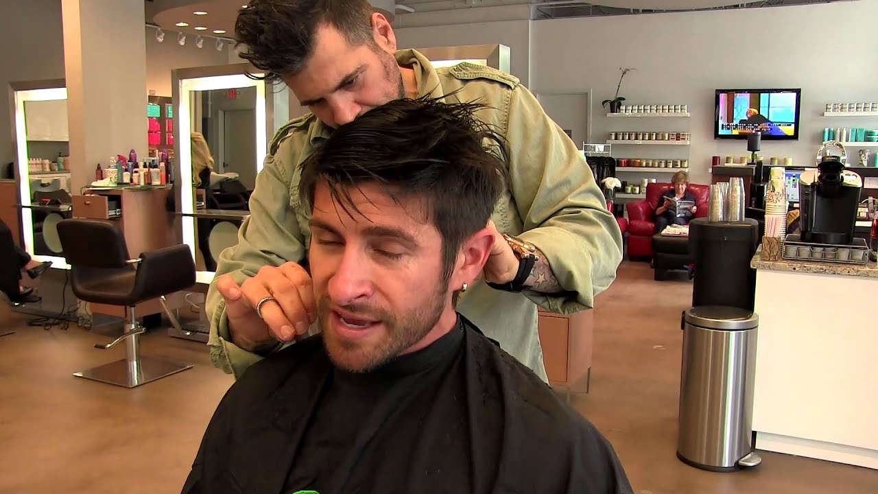 Hairstyle Tutorial Alpha M Hair Care Haircut Hairstyle For Men Youtube