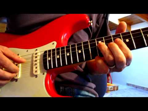 Sultans of Swing solos tutorial