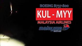 Malaysia Airlines MH2598: KL Int'l KUL ✈ Miri MYY