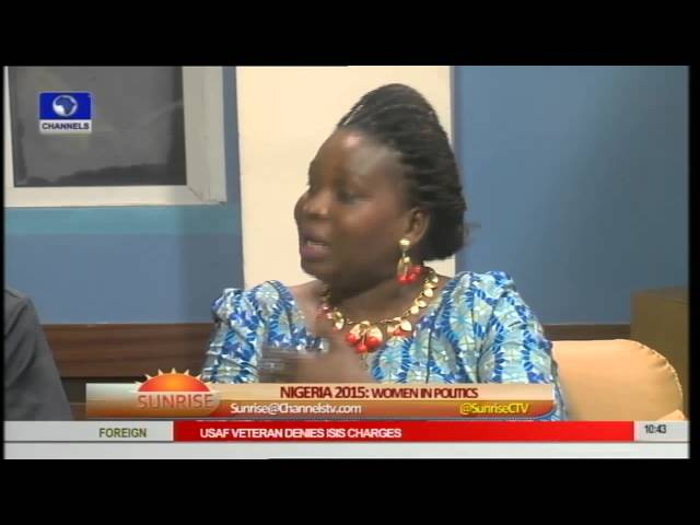 Why Are Women Relegated In Nigerian Political Circles? Pt 3