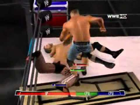 Wwe John Cena Vs Hhh Vs Shawn Michel video