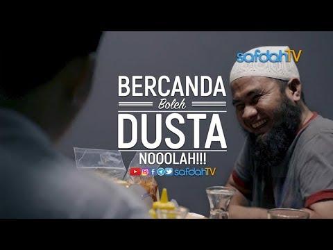 Adab Harian Muslim: Becanda Boleh.. Dusta No!!!