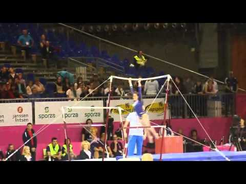 Vanessa FERRARI ITA, Bars, Team Final, European Gymnastics Championships 2012