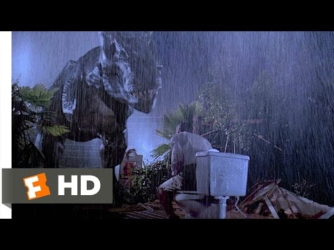 Jurassic Park (4/10) Movie CLIP - Tyrannosaurus Rex (1993) HD