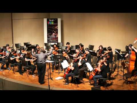 YES Academy Thailand 2013 Chamber Orchestra - Divertimento in D major,K.136